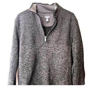 Men's Van Heusen Flex Fleece Quarter Zip Pullover